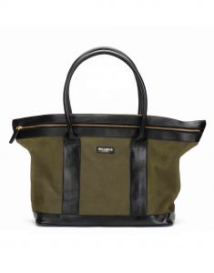 Olive Suede Tote1