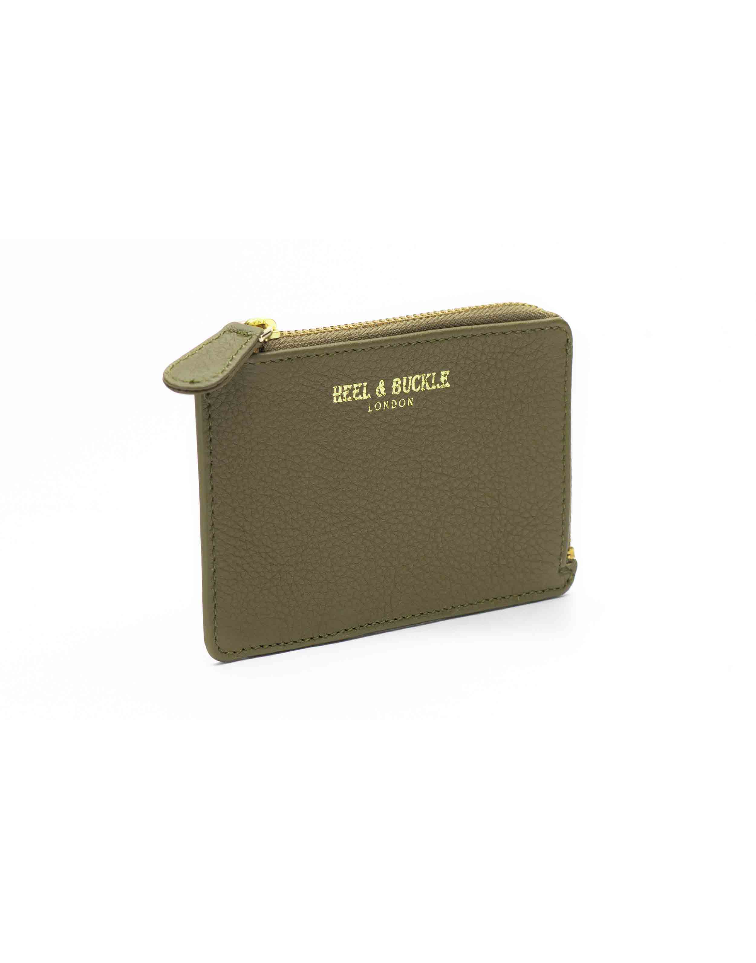 Olive and Black Card Holder3