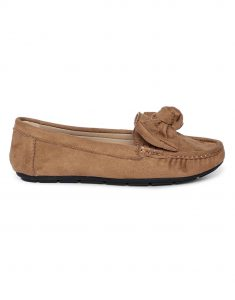 Tan Bow-Tie Loafers1