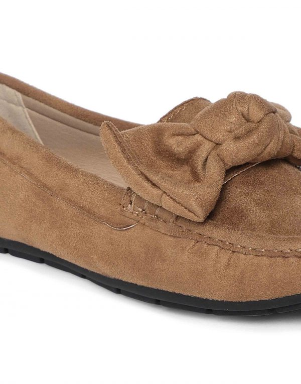 Tan Bow-Tie Loafers5
