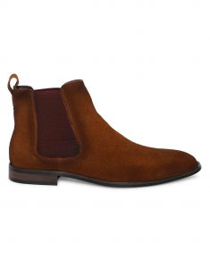 Tan Suede Chealse Boots1