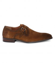 Tan Suede Single Monk 1