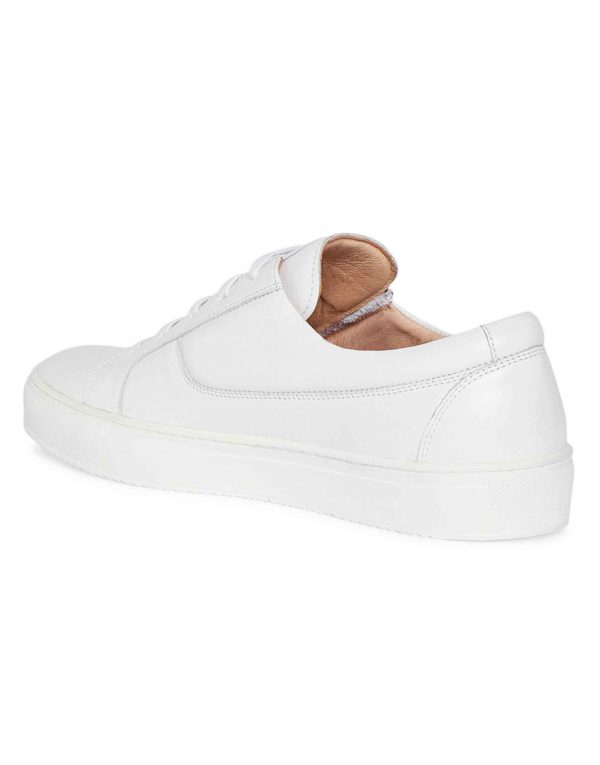 White Side Zip Sneaker 3