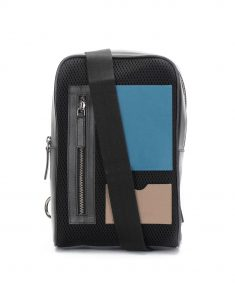 block Mesh Cross-body bag1