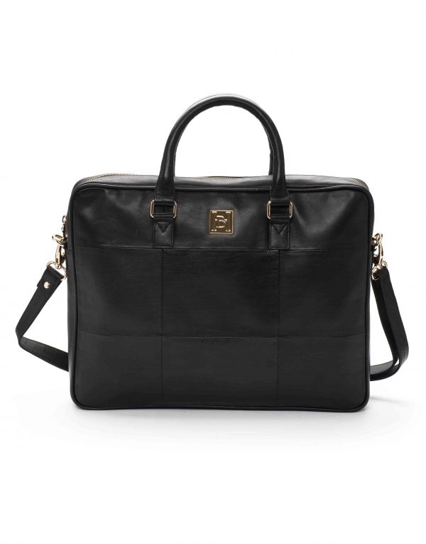 Black Soft Briefcase1