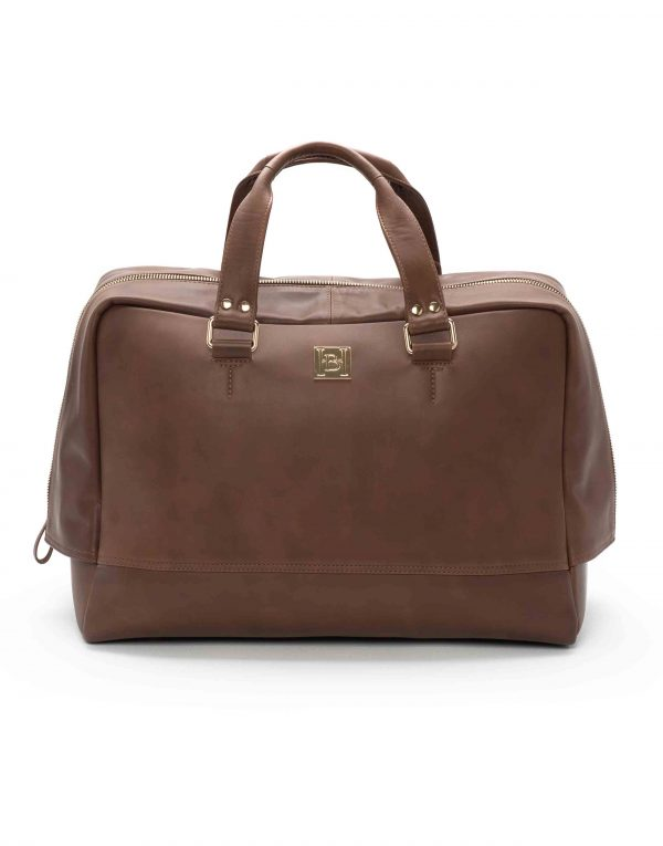 Brown Bowling Bag1