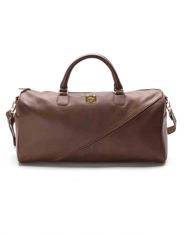 Brown Duffle Bag1