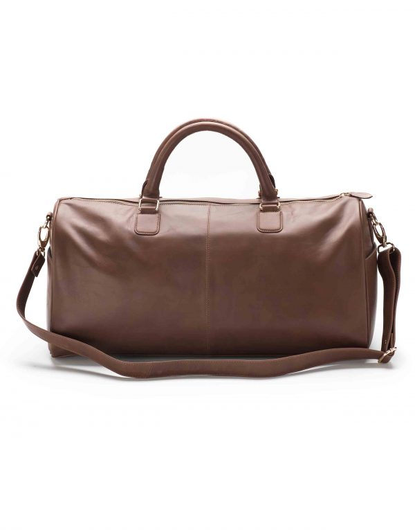 Brown Duffle Bag2