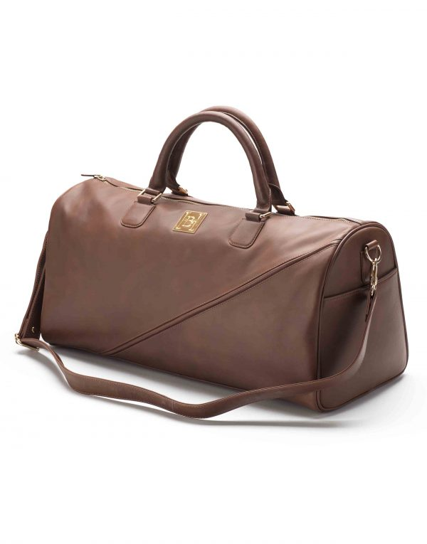 Brown Duffle Bag3