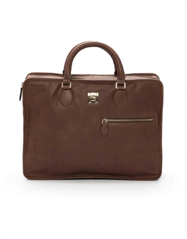 Brown Soft Briefcase1