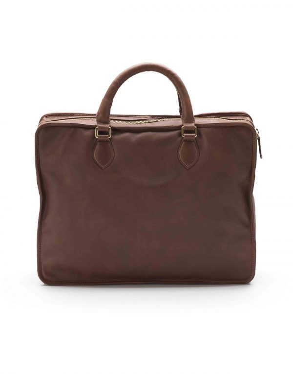 Brown Soft Briefcase2