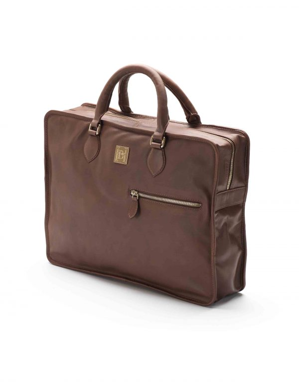 Brown Soft Briefcase3