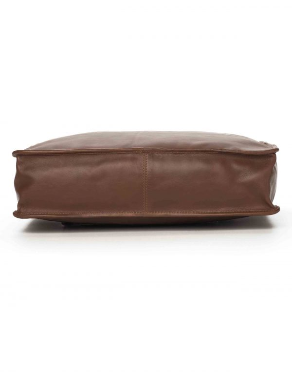 Brown Soft Briefcase4