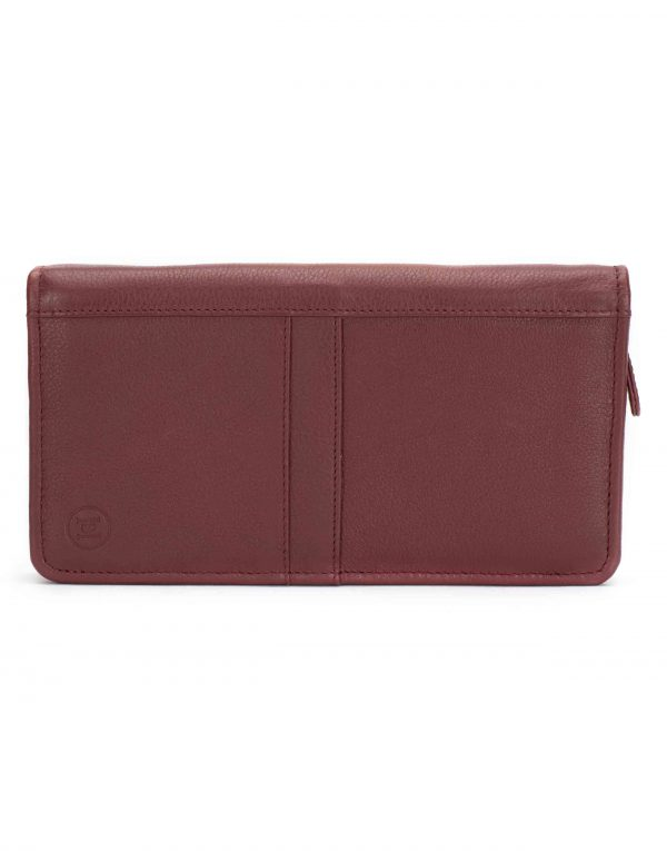Burgundy Travel Wallet1