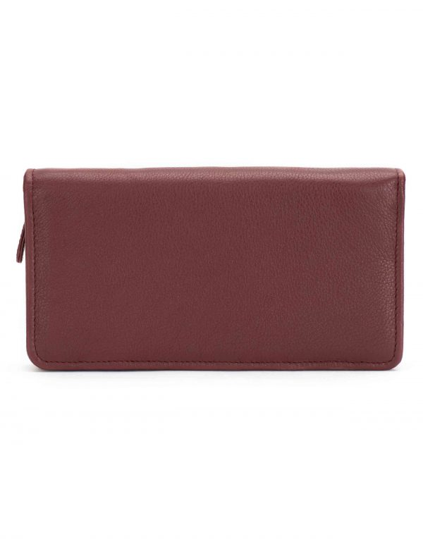 Burgundy Travel Wallet2
