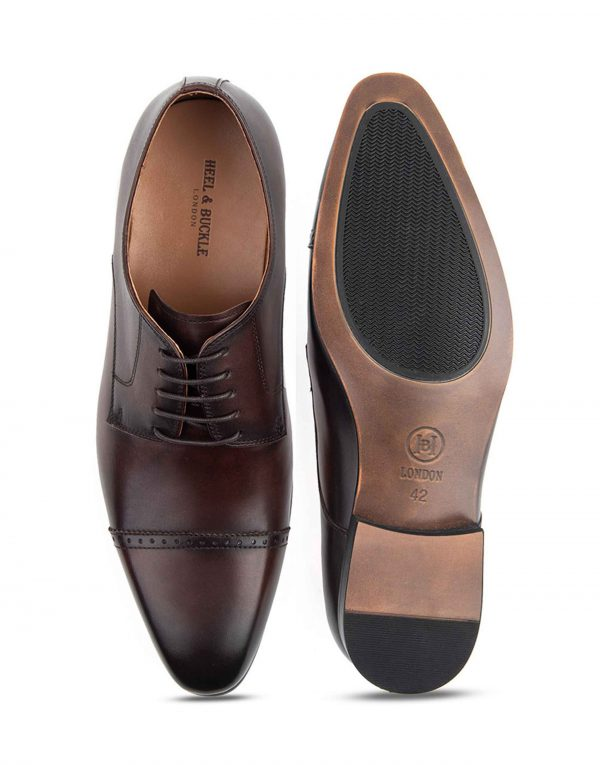 Heel _ Buckle London-HBDARM072-Stately Brown Derby-Brown-4
