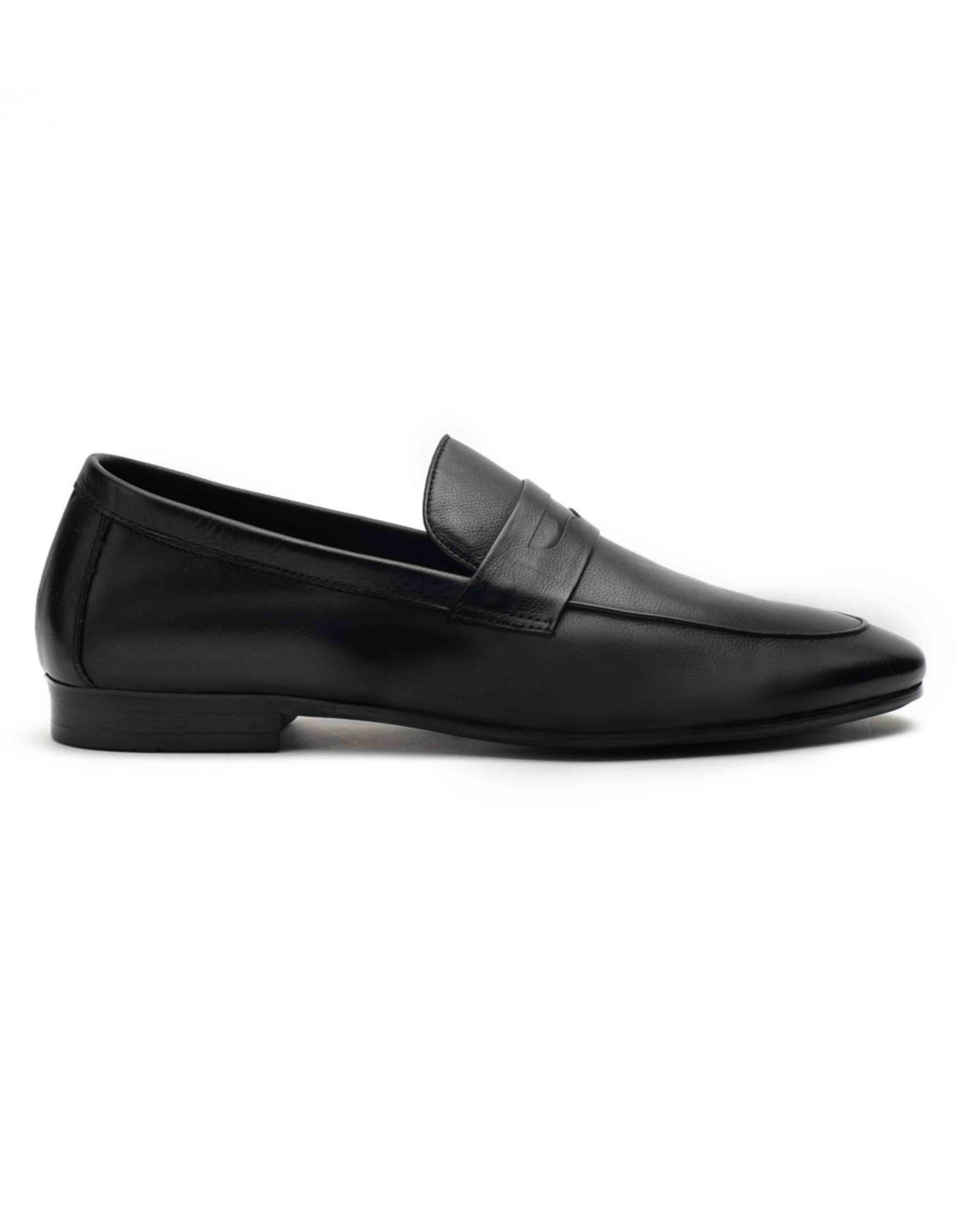 Heel _ Buckle London-HBDARM082-Ascetic Charcoal Loafers-Black-1