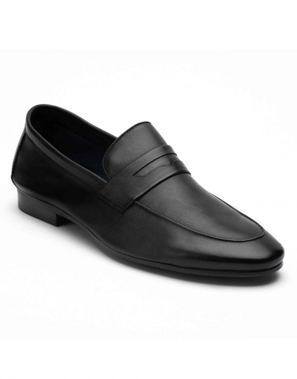 Heel _ Buckle London-HBDARM082-Ascetic Charcoal Loafers-Black-2