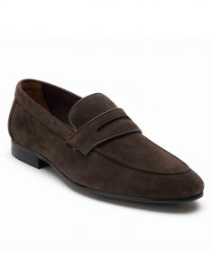 Heel _ Buckle London-HBDARM089-Mosey Brown Penny Loafers-2