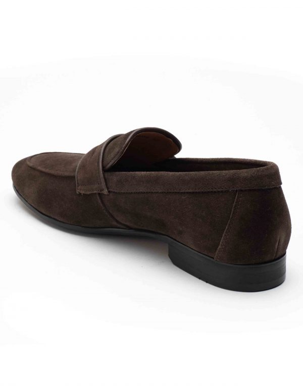 Heel _ Buckle London-HBDARM089-Mosey Brown Penny Loafers-3