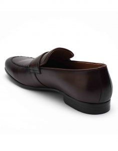Heel _ Buckle London-HBDARM093-Diverse Brown Penny Loafers-3