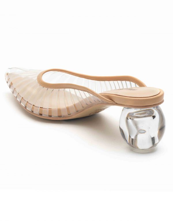Heel _ Buckle London-Shoes-HBDARW084-Globular Heel Sandals-PVC-3