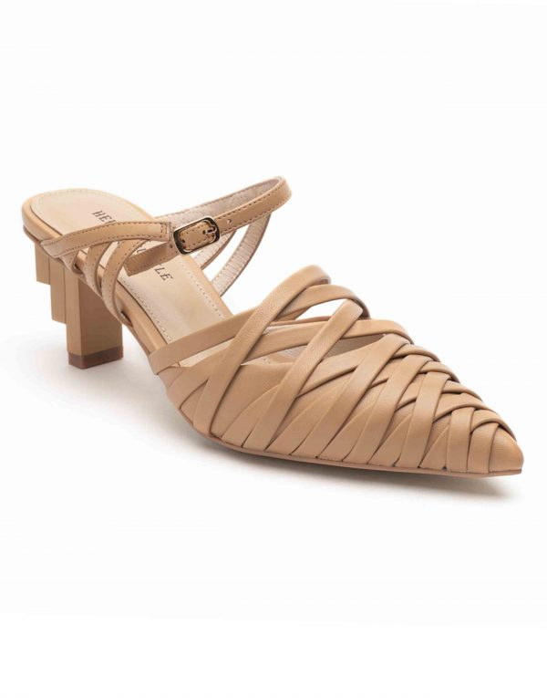 Heel _ Buckle London-Shoes-HBDARW086-Asymmetrical Beige Strappy Sandals-2