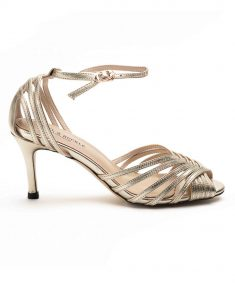 Heel _ Buckle London-Shoes-HBDARW088-Metallic Gold Ankle Strap Sandals-Metallic-1