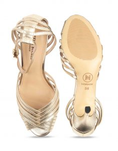 Heel _ Buckle London-Shoes-HBDARW088-Metallic Gold Ankle Strap Sandals-Metallic-4