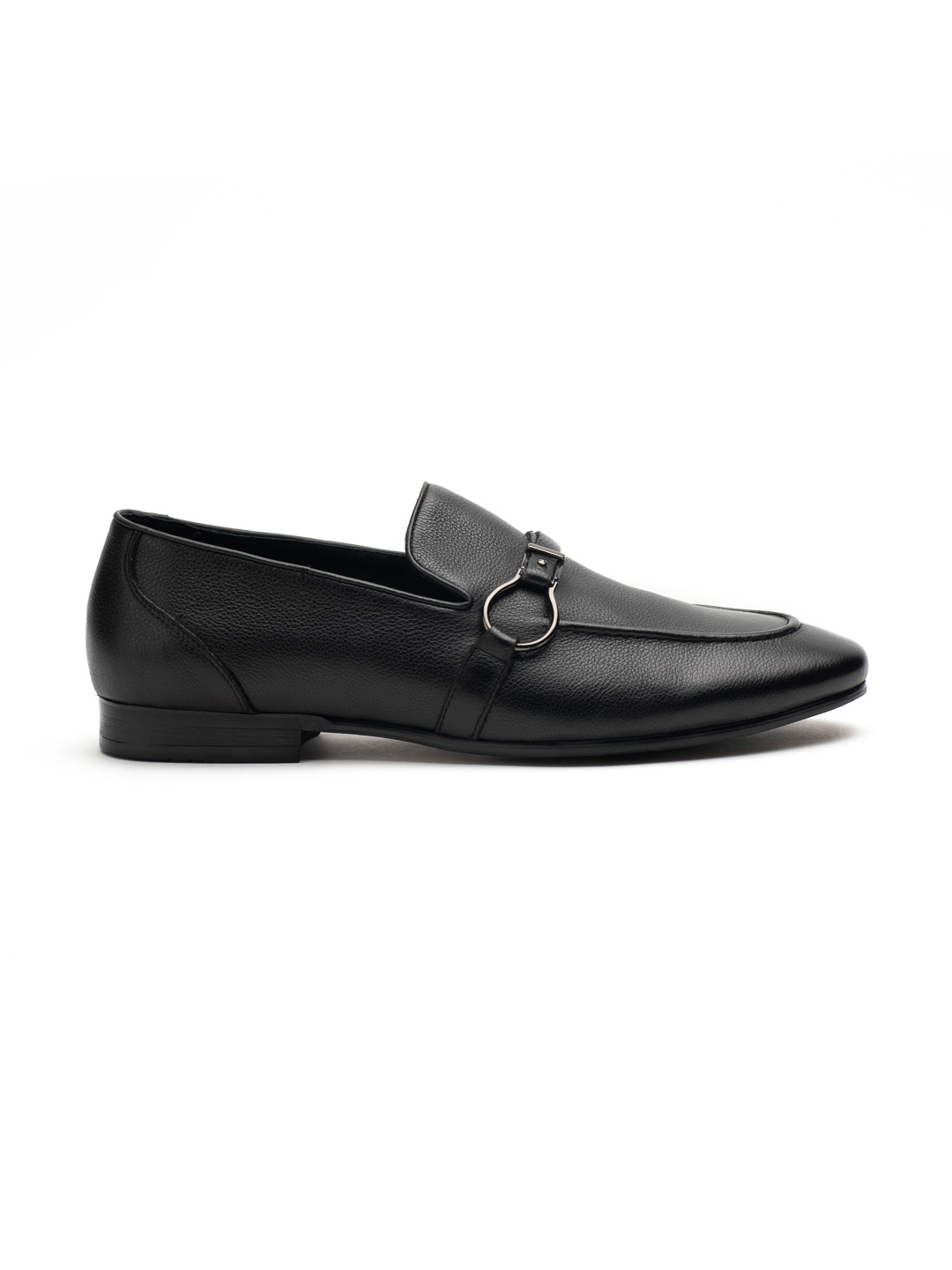 Heel _ Buckle London-HBDARM084-Carousal Black Loafers-Black-1