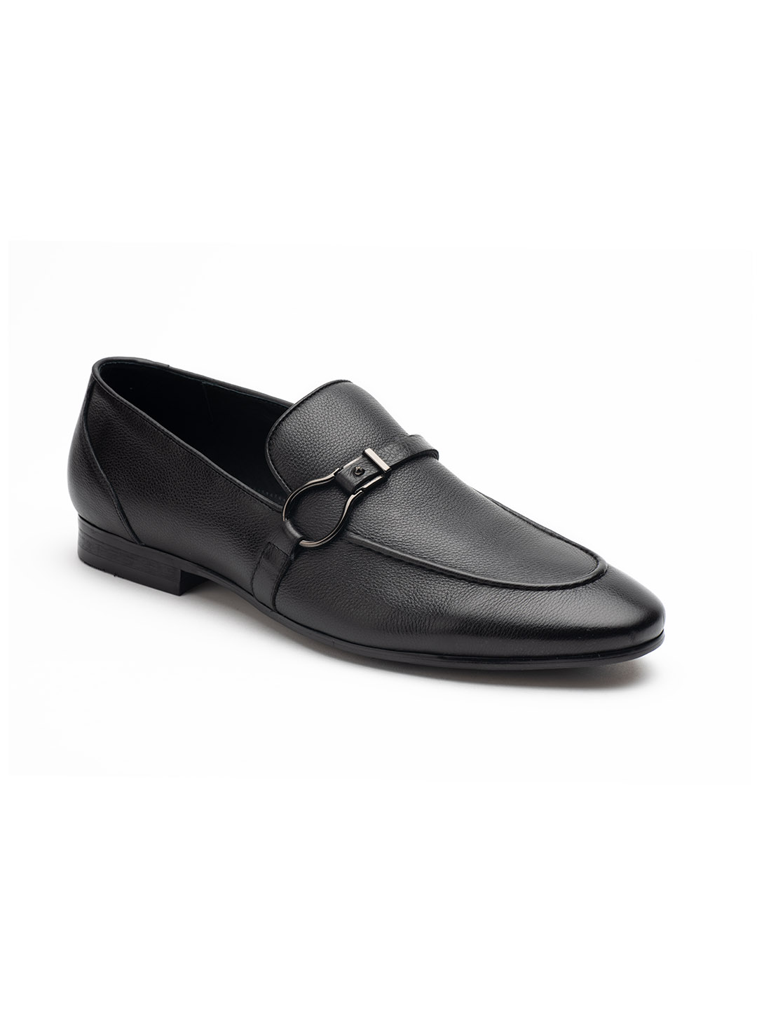 Heel _ Buckle London-HBDARM084-Carousal Black Loafers-Black-2
