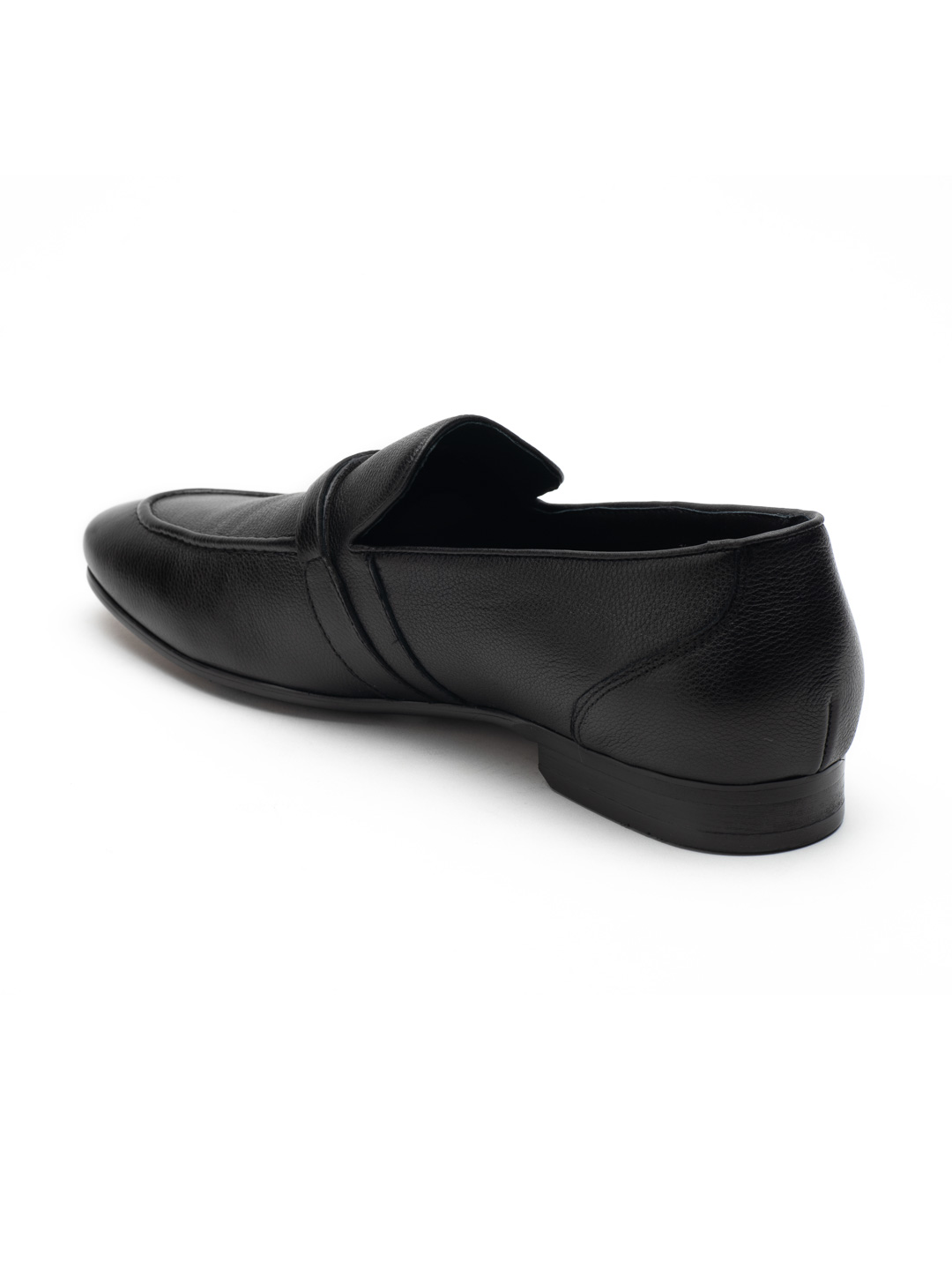 Heel _ Buckle London-HBDARM084-Carousal Black Loafers-Black-3