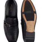 Heel _ Buckle London-HBDARM084-Carousal Black Loafers-Black-4