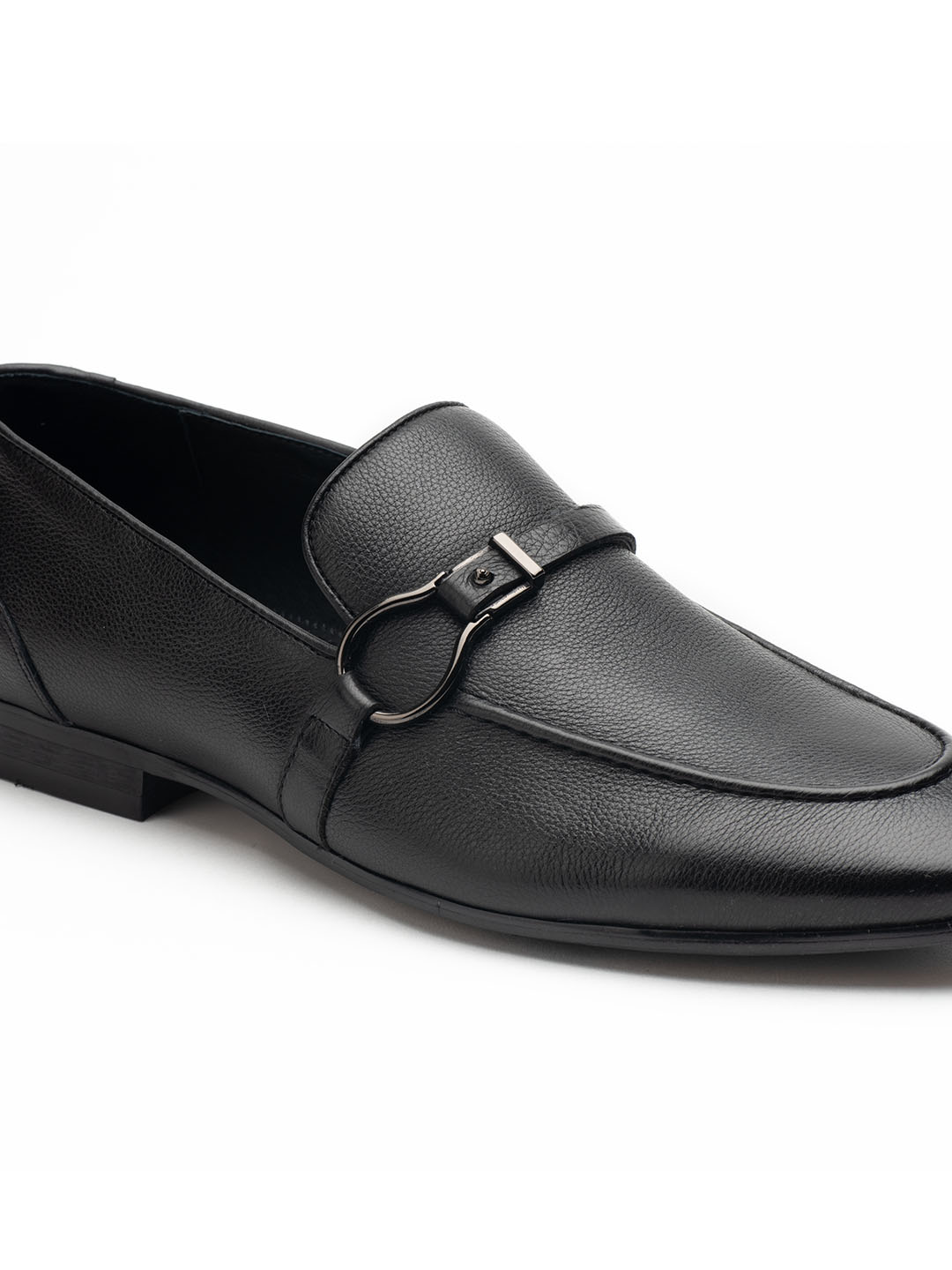 Heel _ Buckle London-HBDARM084-Carousal Black Loafers-Black-5