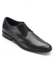 HEEL _ BUCKLE LONDON CHARCOAL DERBY_2