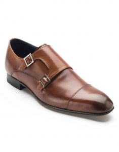 HEEL _ BUCKLE LONDON DOUBLE MONK STRAPS SHOES_2