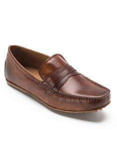 HEEL _ BUCKLE LONDON DRIVER LOAFERS SHOES_2
