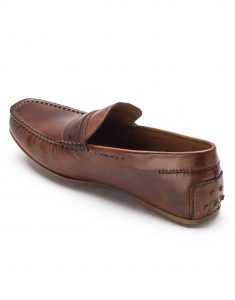 HEEL _ BUCKLE LONDON DRIVER LOAFERS SHOES_3