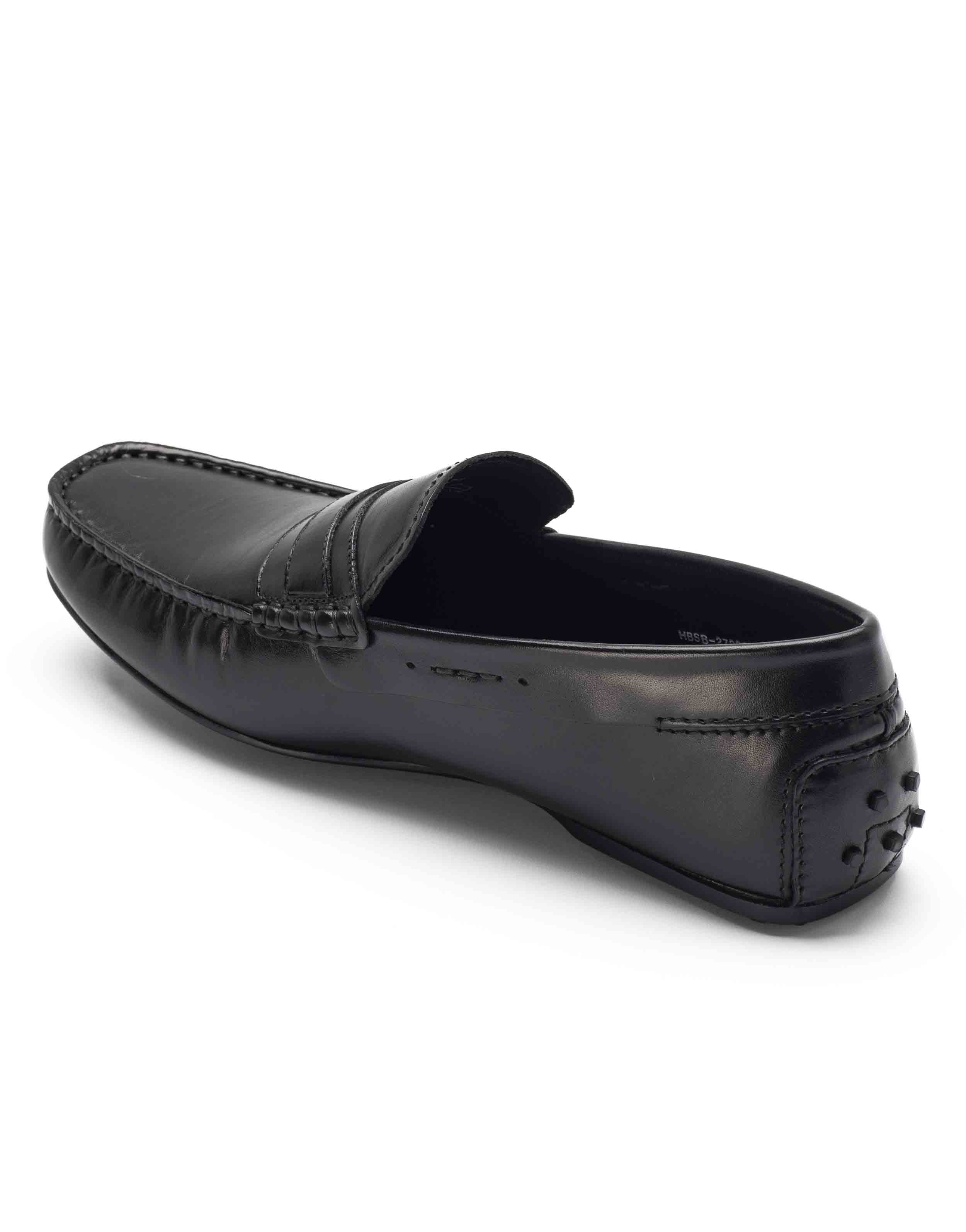 HEEL _ BUCKLE LONDON DRIVER LOAFERS SHOES__3