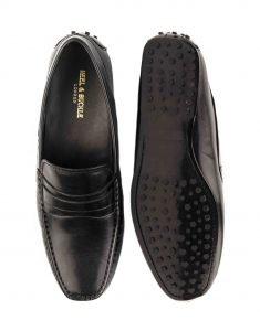 HEEL _ BUCKLE LONDON DRIVER LOAFERS SHOES__4
