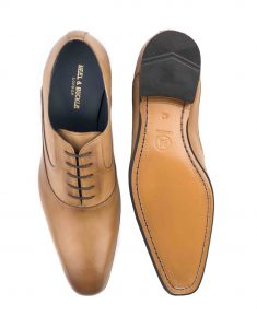 HEEL _ BUCKLE LONDON ONE-CUT OXFORDS SHOES_4