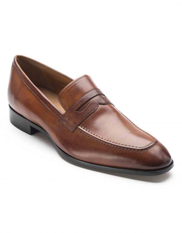 HEEL _ BUCKLE LONDON PENNY LOAFERS SHOES_2