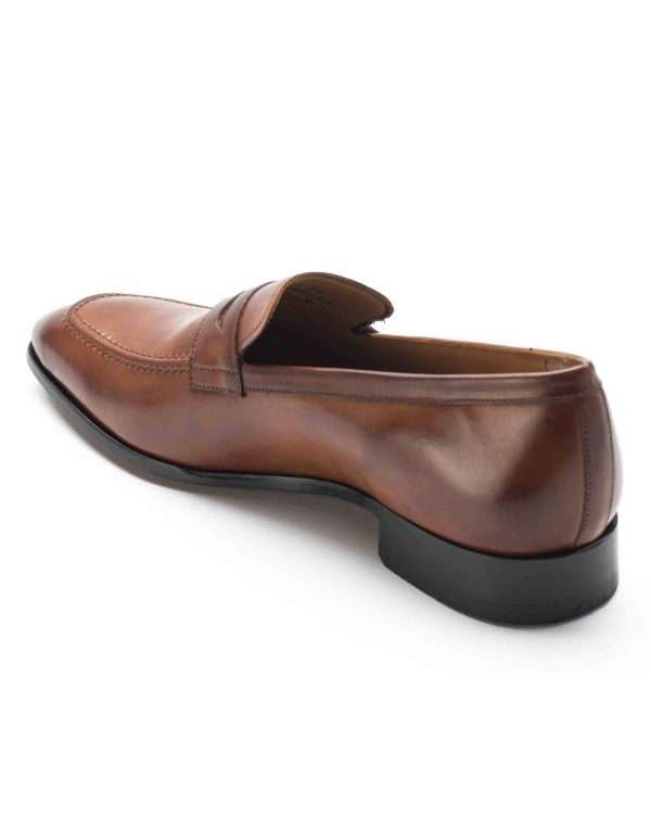 HEEL _ BUCKLE LONDON PENNY LOAFERS SHOES_3