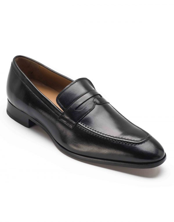 HEEL _ BUCKLE LONDON PENNY LOAFERS SHOES__2