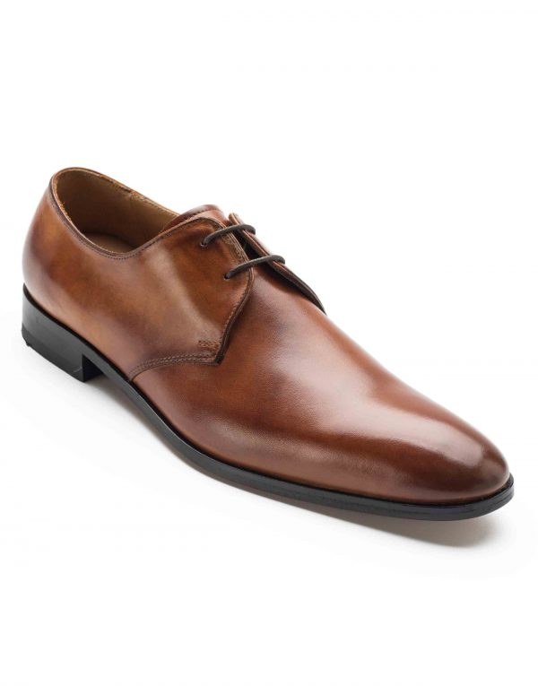 HEEL _ BUCKLE LONDON PLAIN DERBY SHOES_2