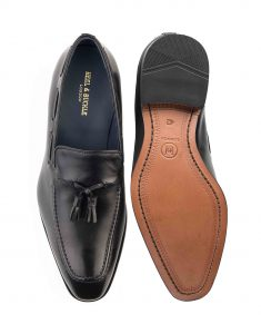 HEEL _ BUCKLE LONDON SLOANE PATENT LOAFERS_4